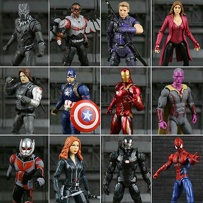 2018 New Captain America Civil War Marvel Legends Man Action Figure Soldier Tops