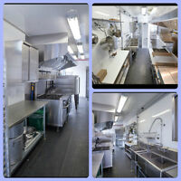 COMMERCIAL KITCHEN SPACE AVAILABLE DOWNTOWN TORONTO