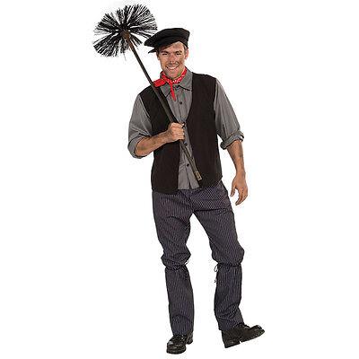 Taglia Unica Adulto Bert # Spazzacamino Costume Travestimento Recita