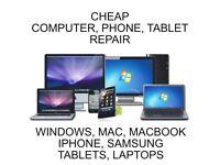 Computer, Phone, Tablet Repair
