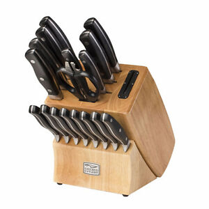 Chicago Cutlery Insignia2 Steel 18-pc Knife Block Set