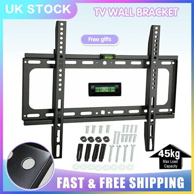 TV Wall Bracket Slim Mount LCD LED Plasma  32'' - 55''  inch SONY LG Samsung UK