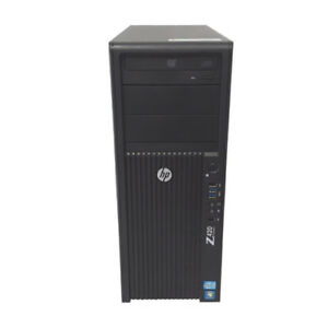 HP Z420 E5-1650 v2 3.5GHz, 32GB, 250GB, K600, Win 10 Pro