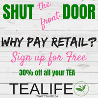 Sip into TeaLife-FREE SIGN UP!