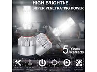 H4 9003 LED Headlight For Honda Civic 1996-2003 Hi//Low Beam 1600W 240000LM 6000K