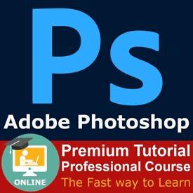 Adobe Photoshop 2021 Course Tutorial Video Lessons Skills Cert Prep Exam CC CS6