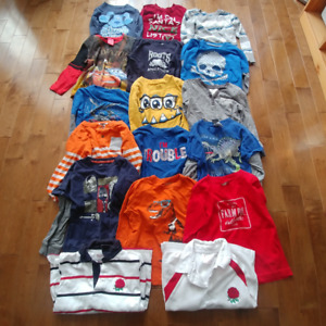 Boys Size 5 lot of clothing (jeans, long sleeve t-shirts,