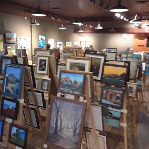 Art Show and Sale At Sunnyside Mall