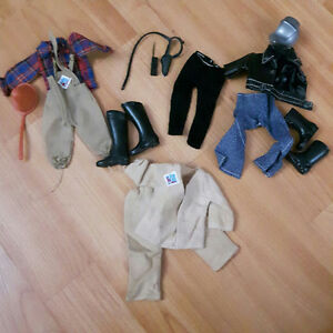 Vintage Action Jackson Doll Clothing Lot- 1971