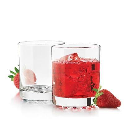 (Libbey Glass 6 Nob Hill 7.75oz Clear Rocks Old Fashioned Glasses Barware #23286)