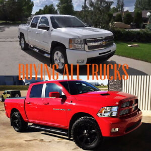 BUYING USED TRUCKS! CASH PAID SAME DAY! ALL MAKES AND MODELS