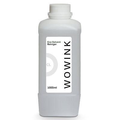 EcoSolvent Reinigungsflüssigkeit Cleaning Liquid Reiniger Mimaki® Mutoh® Roland®