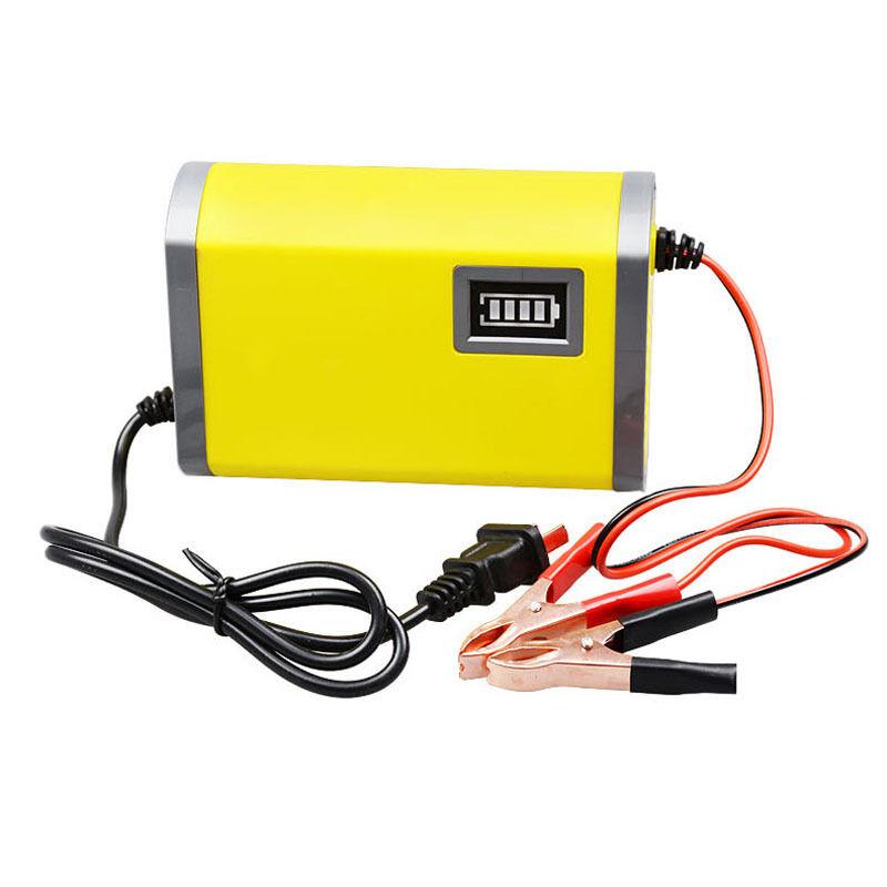 led 12v 6a 2a car motorcycle smart automatic battery. Black Bedroom Furniture Sets. Home Design Ideas