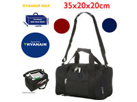 Ryanair Additional 2nd Hand Cabin Luggage Small Extra Bag 35x20x20cm Bags WINE *NEW*