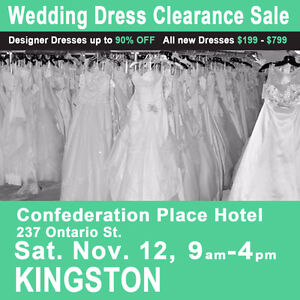 Wedding Dress Clearance Sale Bridal Show   $199-$799 Size 2-28