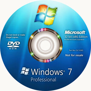 looking 4 windows 7 CD