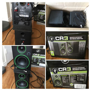 CR3 multimedia monitors- speakers for cheap