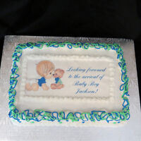 EDIBLE IMAGES - Order on our treats or put them on your own!