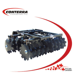 *NEW* Conterra Double Disc for Skid Steers, $3,999.00