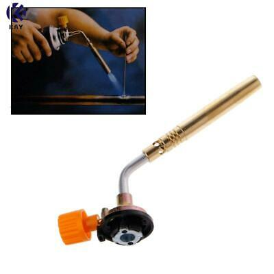 Welding Manual Ignition Soldering Blow Torch Butane Gas Flamethrower Burner