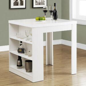 Brand new in box Monarch Counter Height Table White