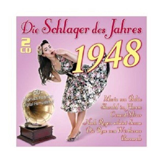 DIE SCHLAGER DES JAHRES 1948 (RITA PAUL/WILLY SCHNEIDER/+) 2 CD NEU