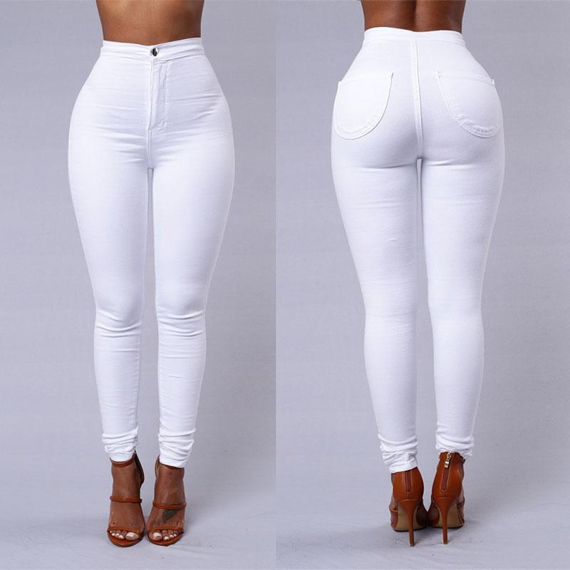 девушки в белых обтягивающих джинсах