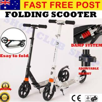 200mm Big Wheel Push Scooter For Adult Child Commuter Gifts