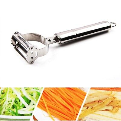 2in1 Stainless Steel Potato Grater Julienne Peeler Kitchen Accessories Vegetable