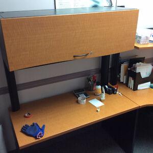 Desk & cabinets