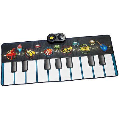 Spielmatte: Berührungsempfindliche Musikmatte mit 6 Instrumenten