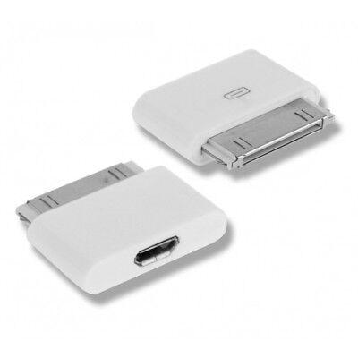 Adaptador Conversor de Micro USB 5 Pines Hembra a Dock iPhone 4S...