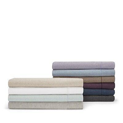 Calvin Klein Modern Cotton Jersey Body QUEEN Flat Sheet SPRAY Bedding D1890