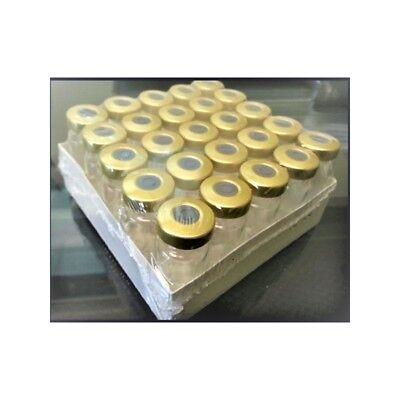 5ml Sterile Serum Vial 25pk Gold Seal Aluminum Hole