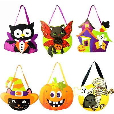 Handtasche Geschenk-beutel (Halloween Geschenk Beutel Geschenktüte Süßigkeiten Kinder Tasche Handtasche FL)