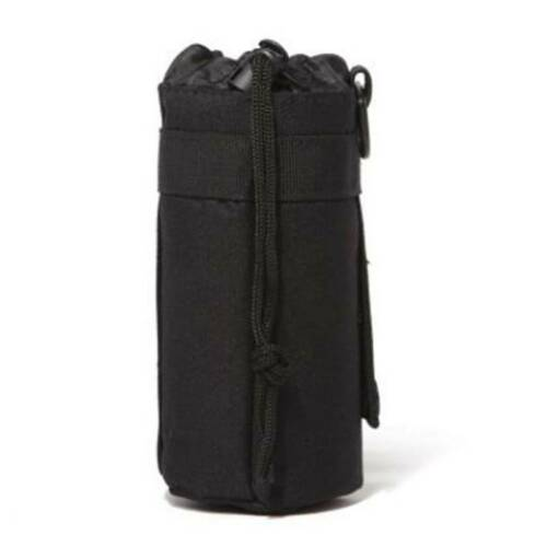 Portable Tactical Molle Water Bottle Holder Pouch Insulation Sport Hiking Bag LD