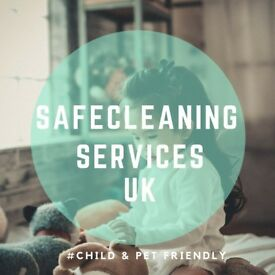 Safe ECO Cleaning Services - 1st Hour only £5 - Leeds and Area - CHILD AND PET FRIENDLY