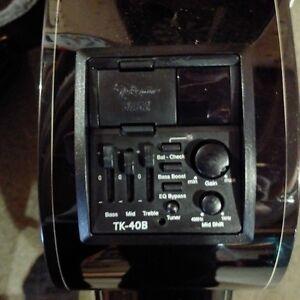 Takamine GB30CE Acoustic-Electric Bass Guitar Black Peterborough Peterborough Area image 8