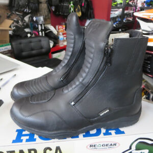 Oxford Warrior Waterproof Leather Motorcycle Boots NEW