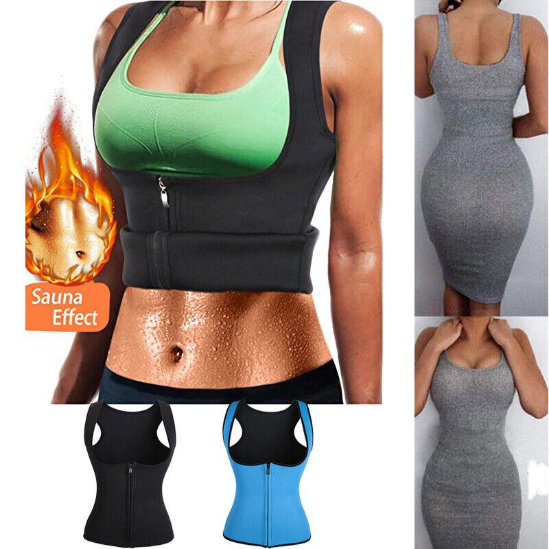 Sweat Women Neoprene Waist Trainer Body Shaper Weight Loss V