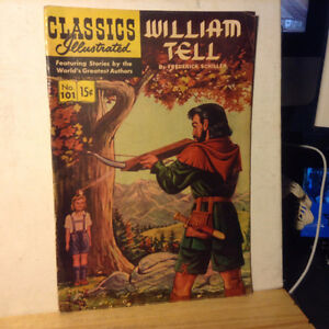 Classics Illustrated WILLIAM TELL No.101 - HR#118 - VG Vintage C