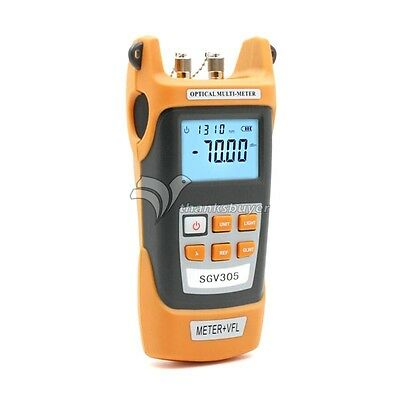 Sgv305 Optical Power Meter Tester Handheld Laser Light Source Fiber Meter 5mw
