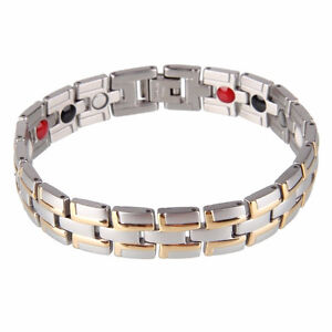 Healing Magnetic Bracelet Negative Ion Custom Fitting