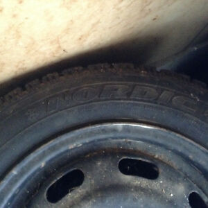 Goodyear winter tires and rims Kitchener / Waterloo Kitchener Area image 5