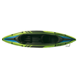 NEW IN THE BOX 2 PEOPLE INFLATABLE KAYAK PACKAGE