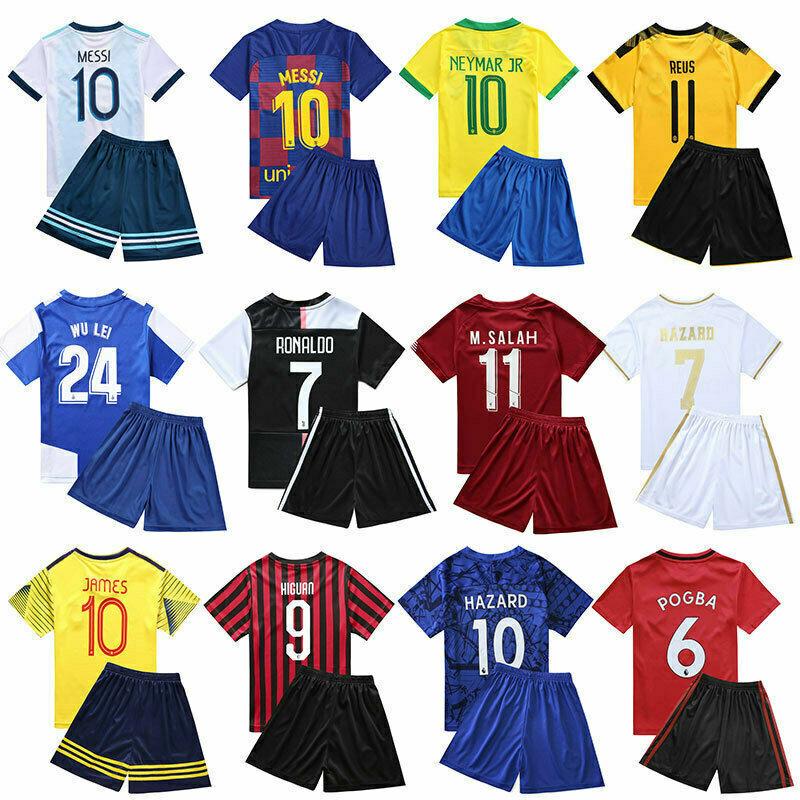 Soccer Football Outfit Kids Club school football training class team uniform