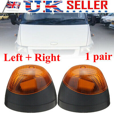 Front Right & Left Side Indicator Light Lamp Repeater For FORD TRANSIT MK6 MK7
