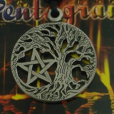 Pentagramm Drudenfuß Wicca Magie Gothic Anhänger Pentagram Amulett WGT 30273M