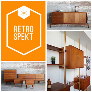 Retrospekt: We BUY, SELL & REFINISH Mid-Century Teak Furniture