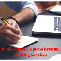 Express Resume Services! Resume + Cover Letters Quick!